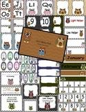 Owl Theme Classroom Decor Pack