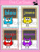 Owl Theme Classroom  - French Colors Posters