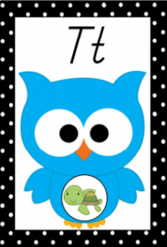 Owl Theme Classroom Mini Pack