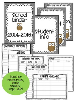 Owl Theme Classroom {Organization, Decor, & Resource Binder}