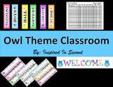 Owl Theme Classroom Tools