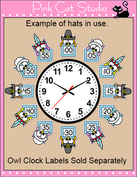 Thanksgiving - Owl Theme Clock Accessories - Thanksgiving Hats