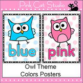 Owl Theme Colors Posters