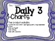 Owl Theme {Daily 3 Math I-Charts}