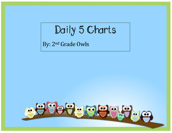 Owl Theme Daily 5 Charts