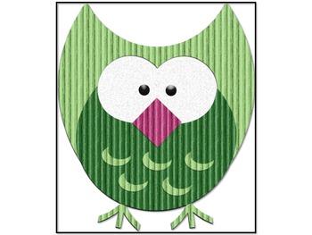 Owl Theme Decorations {Talking Owls}
