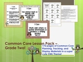 Owl Theme Grade Two Common Core Lesson Planning Pack