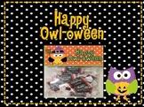 Owl Theme- Happy Owl-oween Treat Bag Toppers