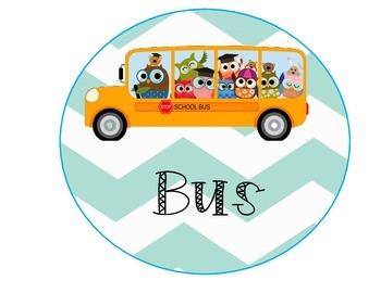 Owl Theme - How We Go Home (Transportation)