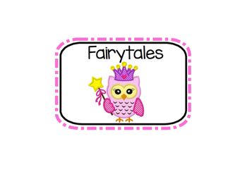 Owl Theme Labels for Classroom and Classroom Library