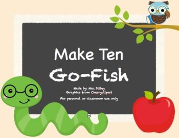 Owl-Theme Make Ten Go Fish