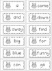 Owl Theme Mini Dolch Word Flash Cards