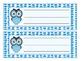 Owl Theme Name Tags 2