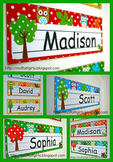 Owl Theme Nameplates (EDITABLE)