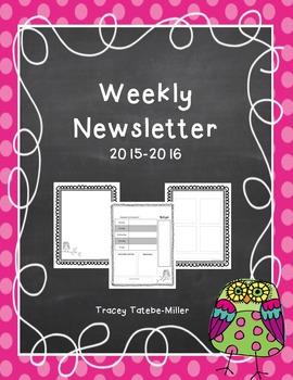 Owl Theme Newsletter Template
