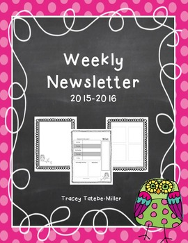 Owl Theme Newsletter Template