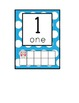Owl Theme Number Cards