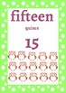 Classroom Decor-Owl Theme Number Posters
