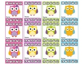 Owl Theme Punch Cards (Behavior Management)