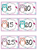 Reading Points by 5s Owl Theme
