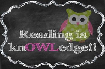 Reading is Knowledge Owl Poster *Freebie*