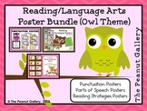 Owl Theme Reading/Language Arts Poster Bundle