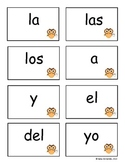 Owl Theme Spanish Sight Word Flash Cards
