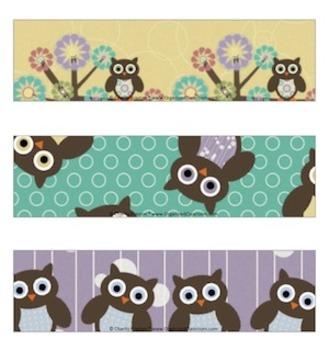 Owl Theme Sterilite Container Templates