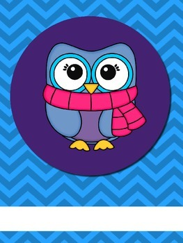 Owl Theme Teacher Binder Organizer Editable 46 pages