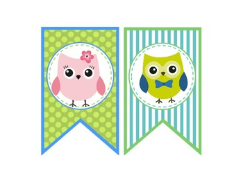 Owl Themed {Welcome Banner}