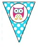 Owl Theme Welcome Pennant