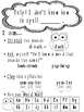 Owl Theme Writing_ Spelling Poster