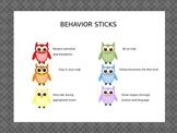 Owl Theme classroom rules