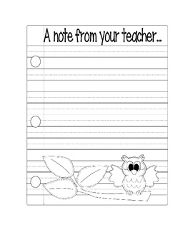 Owl Theme printables