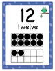 Owl Theme 10-Frame Number Posters, 0–30