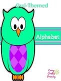 Owl-Themed Alphabet