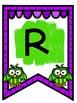 Owl Themed Alphabet Banner & Pennant Set!