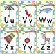 Owl Themed Alphabet Chart