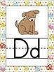 Owl Themed Alphabet Posters {Hoot Bird} Zaner Bloser Font {Handwriting Lines}
