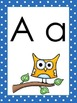Owl Themed Alphabet Wall Display