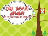 Owl Themed Alphabet