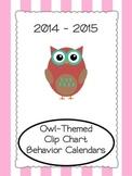 Owl-Themed Behavior Calendars {Updated Each School Year}