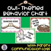 Owl- Themed Behavior Chart