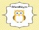Behavior Clip Chart - Owls