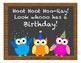 Owl Themed Birthday Board Pack