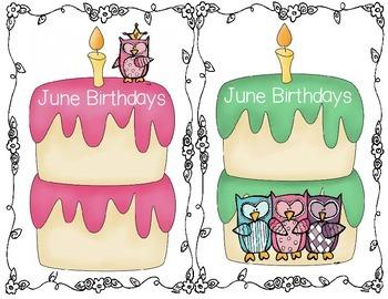Owl Themed Birthday Cakes
