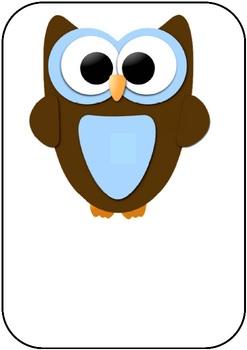 Owl Themed