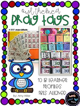 Owl Themed Brag Tags [Aligned with IB Learner Profiles]