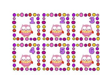 Owl Themed Calendar Cards {Hoot Bird} {Morning Math} Number Corner