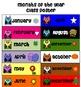 Owl-Themed Calendar Labels